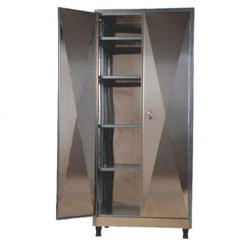 Armário INOX  Arte Cadeiras -> Armario Banheiro Aco Inox